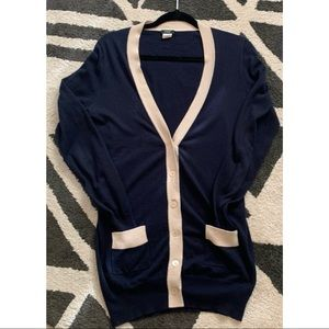 J.Crew button up sweater